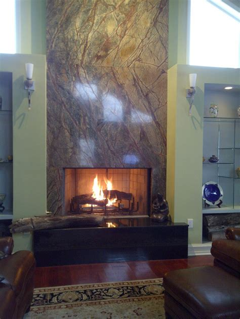 granite fireplace surround lareiras fireplace