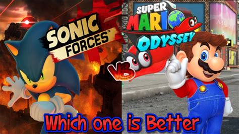 super mario odyssey standard 0744018889 quot which game is better sonic forces vs super mario odyssey quot youtube