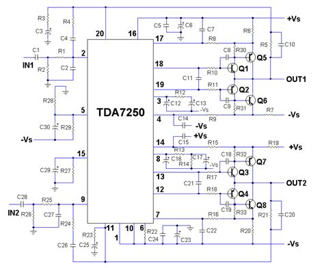 lifier bootstrap capacitor tda7293 bootstrap capacitor 28 images gt circuits gt 450w audio power lifier circuit l20743