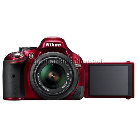 dslr specifications technical specifications of nikon d5200 dslr