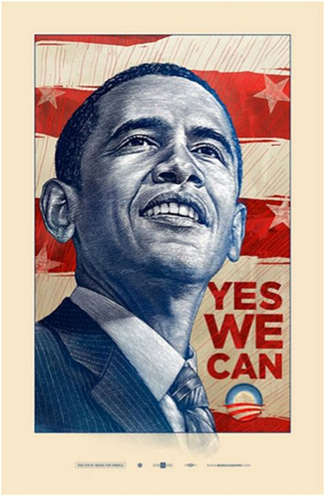 yes we can biography barack obama 21st century poster art movement escape into life