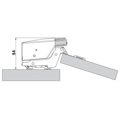 Blum 973a0700 973a Blumotion For Doors Inset Hinges Woodworker Express Blum Inset Hinge Template