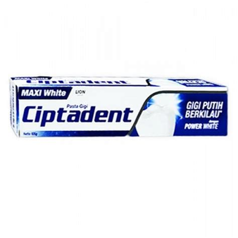 ciptadent toothpaste shinywhite 105gr