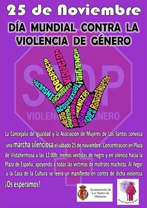 d 237 a internacional contra la violencia de g 233 nero 2015 d 237 a mundial contra la violencia de g 233 nero los santos de