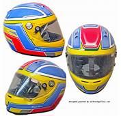 Arai Race Helmet Custom Paint Kart Design  Airbrush Gallery