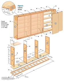 Sliding Bookcase Door Hardware Giant Diy Garage Cabinet The Family Handyman