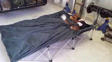 emmett   air mattress stand youtube