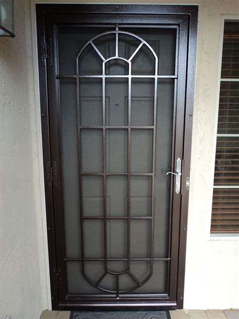Decorative Security Doors by 25 Best Ideas About Security Door On Front