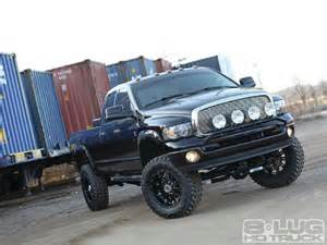 Dodge Truck Custom 2005 Dodge Ram 3500 Asphalt Annihilator 8 Lug Hd Truck