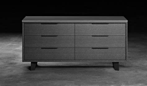 urbano gray oak contemporary bedroom dressers modern