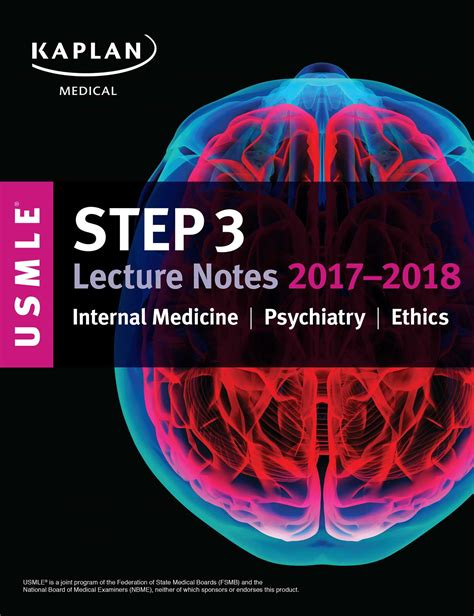 usmle step 1 lecture notes 2018 7 book set kaplan test prep usmle step 3 lecture notes 2017 2018 medicine