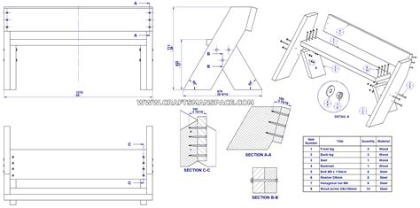 bench pattern pdf aldo leopold bench pattern plans free