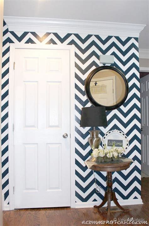 paint wall ideas diy tuturial for painting chevron stripes one of 100