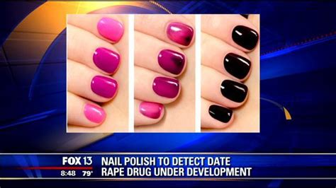 nail polish for detecting date rape drugs undercover colors eliminate date rape worries siowfa14 science in our