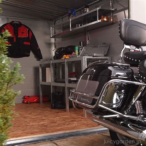 Motorbike Metal Shed by Sotoyashop Ex Rakuten Global Market Motorcycle
