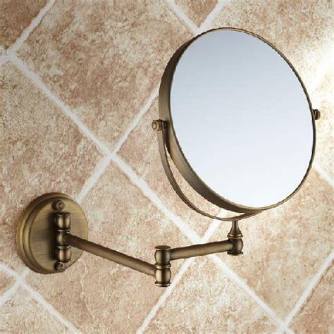 messing badezimmerspiegel antiken 8 quot beidseitig bad falten messing rasieren make up