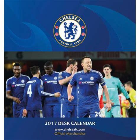 libro official chelsea 2016 calendar chelsea calendars official merchandise 2016 17