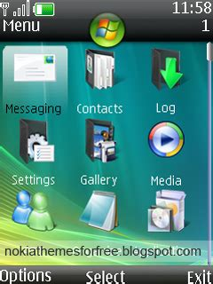 nokia themes windows vista kamarashev s free nokia themes windows vista theme for