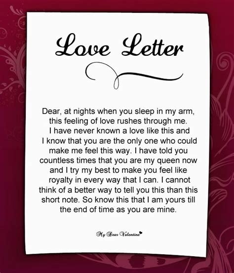 love letter love quotes love