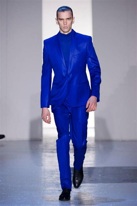 Jc Jacket Vinci thierry mugler s royal blue on royal blue suit
