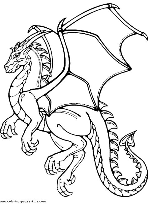 medieval dragons dragons coloring pages  sheets