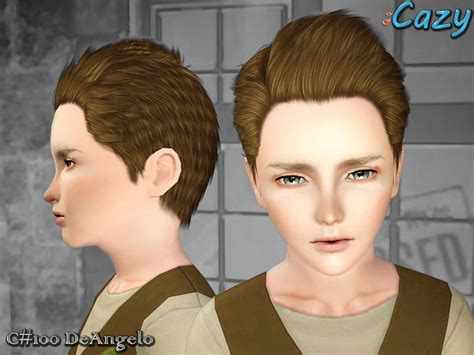 child bob haircut sims 4 cazy s deangelo hairstyle set