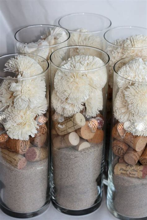 Best 25  Sand centerpieces ideas on Pinterest   Beach