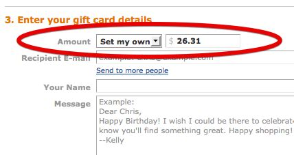 How To Use A Gift Card On Amazon - split your amazon transaction and use up that old visa gift card consumerist