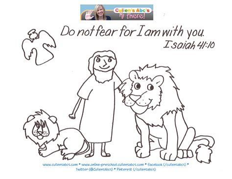daniel bible coloring pages free daniel and the lions den bible memory verse coloring page