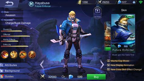 mobile legend guide mobile legends hayabusa item skill build and strategy
