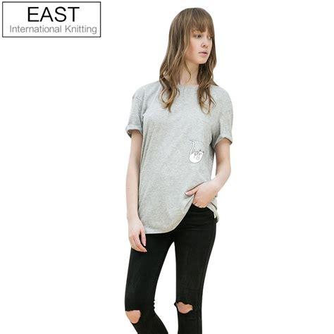 east knitting h552 2016 summer tops rip t shirt