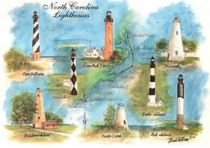 map of carolina lighthouses carolina lighthouses flickr photo