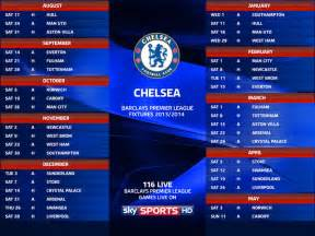 Spanish La Liga Table Chelsea Fixtures 2013 2014 Amp Upcoming Matches Of Premier
