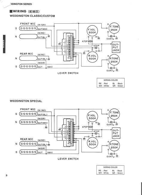 wiring diagram yamaha electric guitar efcaviation