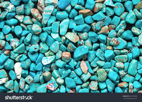 turquoise mineral raw background beautiful blue stock