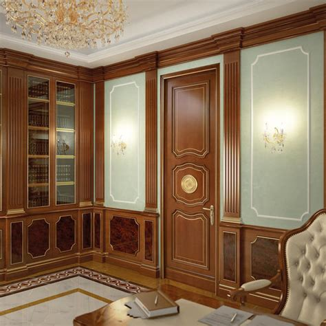 Wood Wainscoting Wood Wainscoting Wall Decoration Classic Style