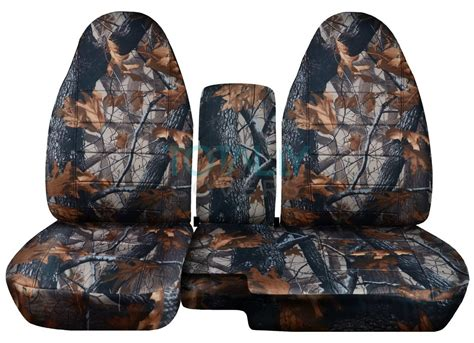 ford ranger 60 40 seat covers 1991 2012 ford ranger 60 40 camo truck seat covers w