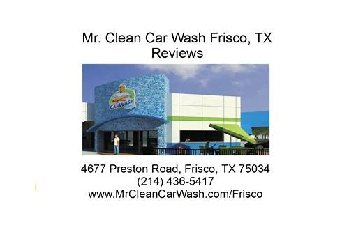mr clean carwash frisco coupons