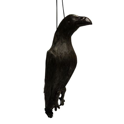 aspectek visualscare feather real feather scarecrow