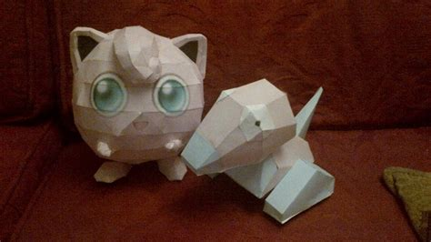 Jigglypuff Papercraft - porygon and jigglypuff papercraft by zoiby on deviantart