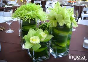 green wedding centerpieceswedwebtalks wedwebtalks