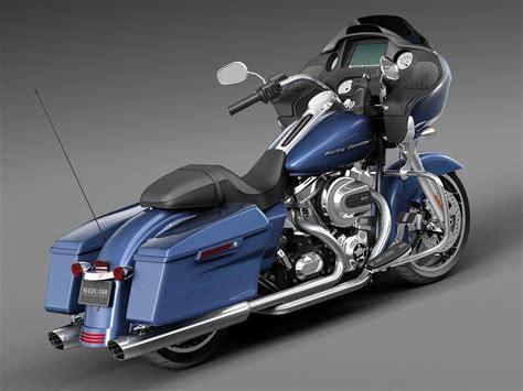 Harley Davidson 2015 Road Glide by Harley Davidson Road Glide 2015 3d Model Max Obj 3ds Fbx