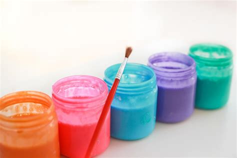 Handmade Paint - bath paint recipe