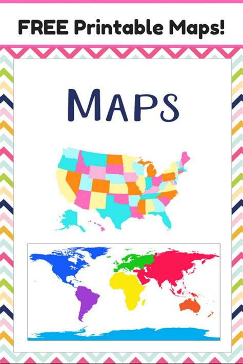 map of usa for kindergarten 25 best ideas about printable maps on map of
