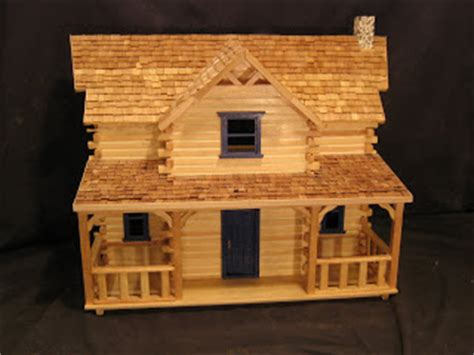 Log Cabin Craft Kits by Manchester Woodworks