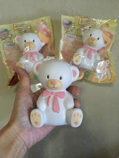 Kiibru Teddy Squishy squishy panda egg jumbo squishy eggs and pandas