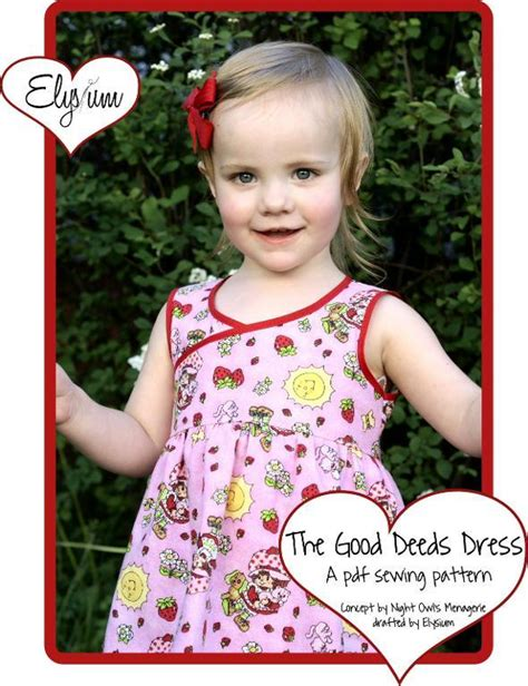 pattern of good works the good deeds dress by elsyiumpatterns craftsy