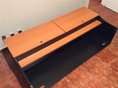 escritorio con cajonera escritorio de madera con cajonera al piso y superior