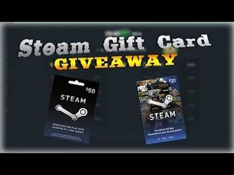 Steam Gift Card Not Working - 25 steam gift card giveaway youtube