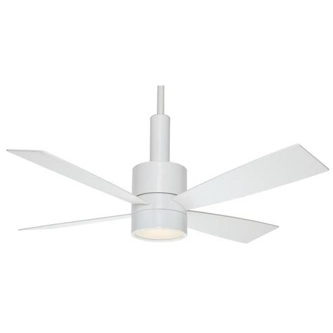 Casablanca Light Kits For Ceiling Fans by Shop Casablanca 54 In Snow White Downrod Mount Indoor